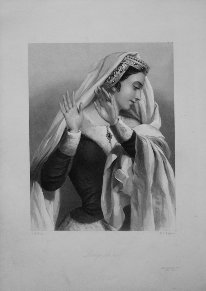 Lady Anne. 1860.