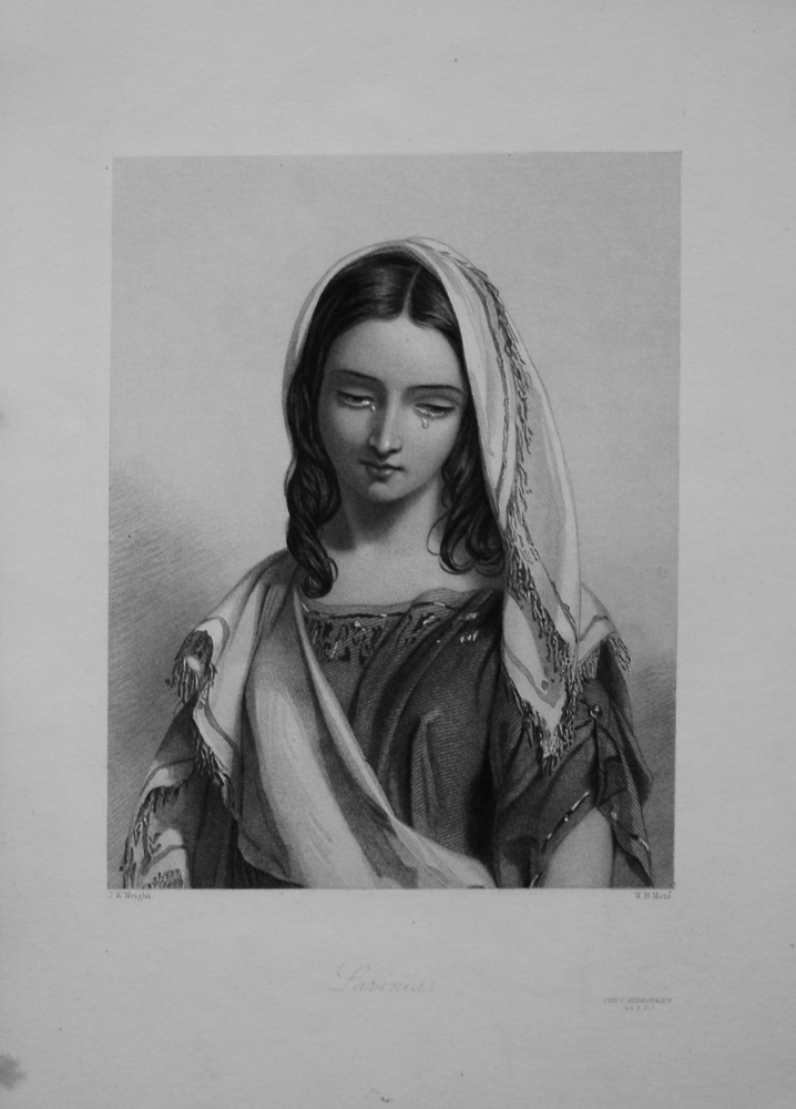Lavinia. 1860.