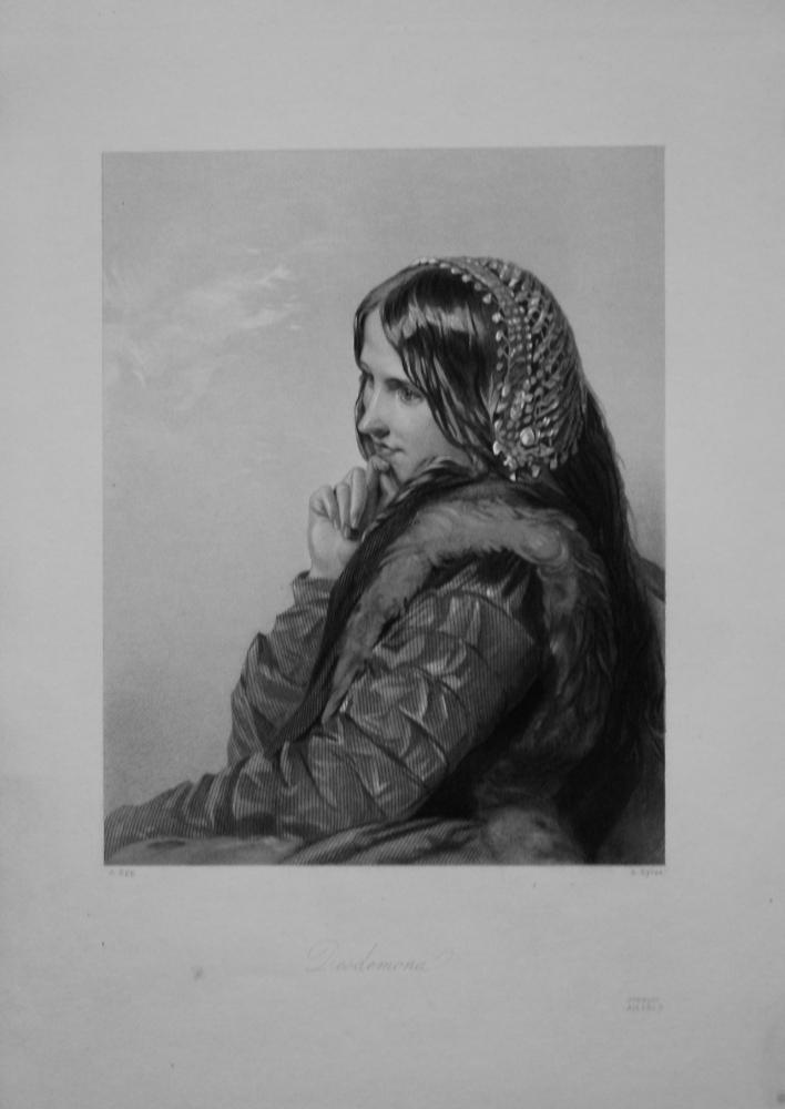 Desdemona. 1860.