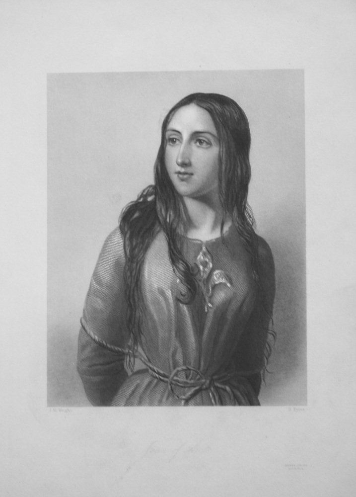 Joan of Arc. 1860.