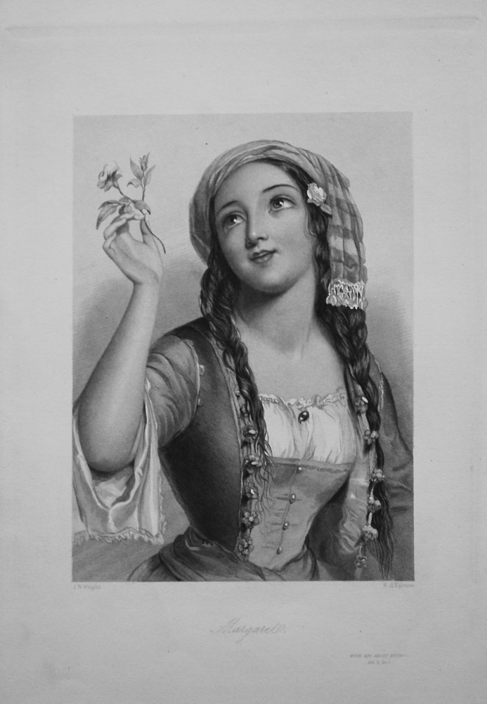 Margaret. 1860.