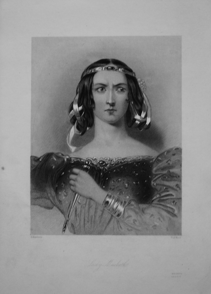 Lady Macbeth. 1860.
