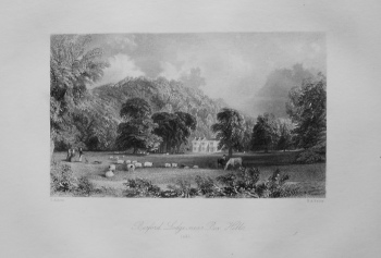 Burford Lodge, near Box Hill. (1840)