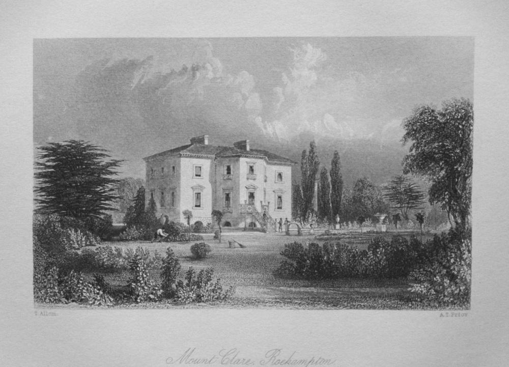 Mount Clare, Roehampton.
