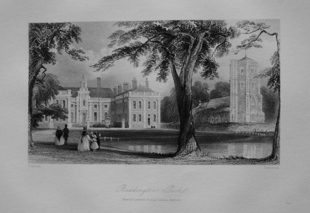 Beddington Park. (Now the Lambeth Female Orphan Asylum.)