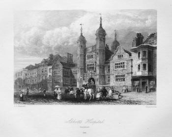 Abbott's Hospital. Guildford. 1840.