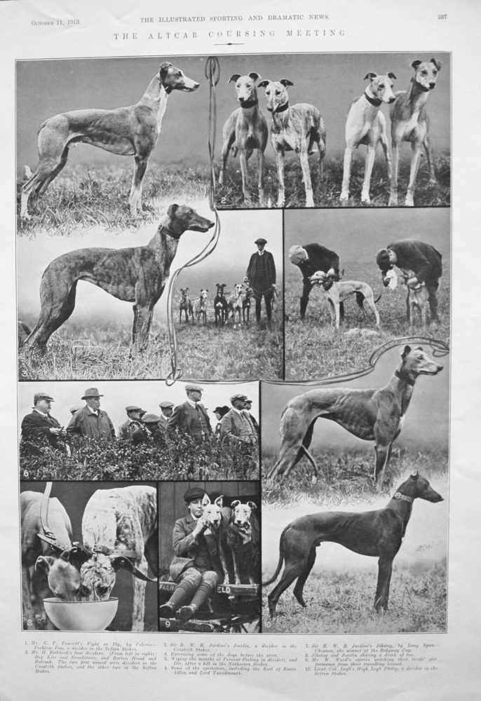 Altcar Coursing Meeting. 1913.