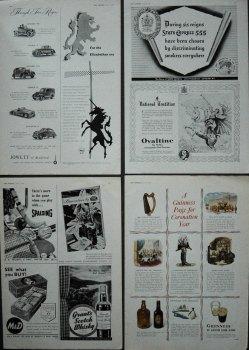 Adverts. 1953