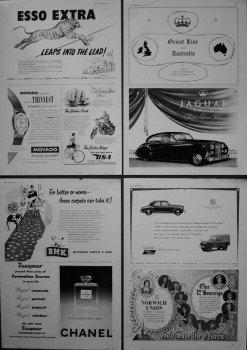 Adverts. 1953.