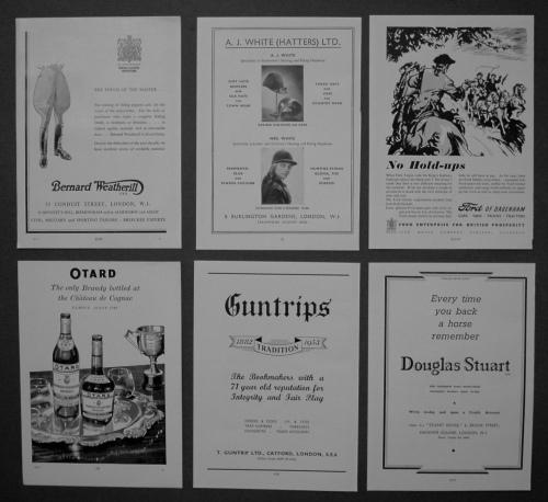 Adverts, 1950.