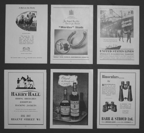 Adverts. 1950.