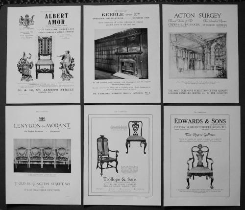 Adverts, 1927.