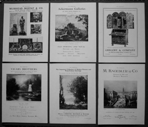 Adverts, May 1927.