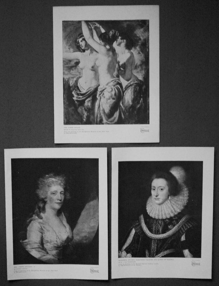 Elizabeth (Stuart), Electress Palatine and Queen of Bohemia. Mrs Joseph Anthony. The Three Graces. 1927.