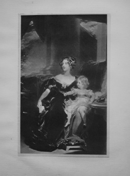 Countess Gower and her Daughter.