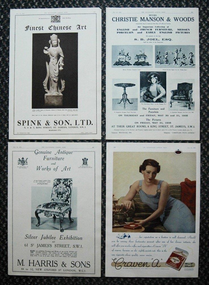 Adverts, May 1935