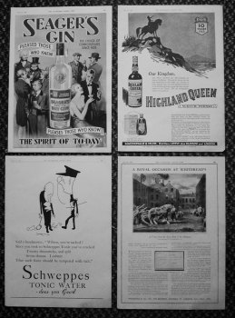 Drink Adverts, May 1935.