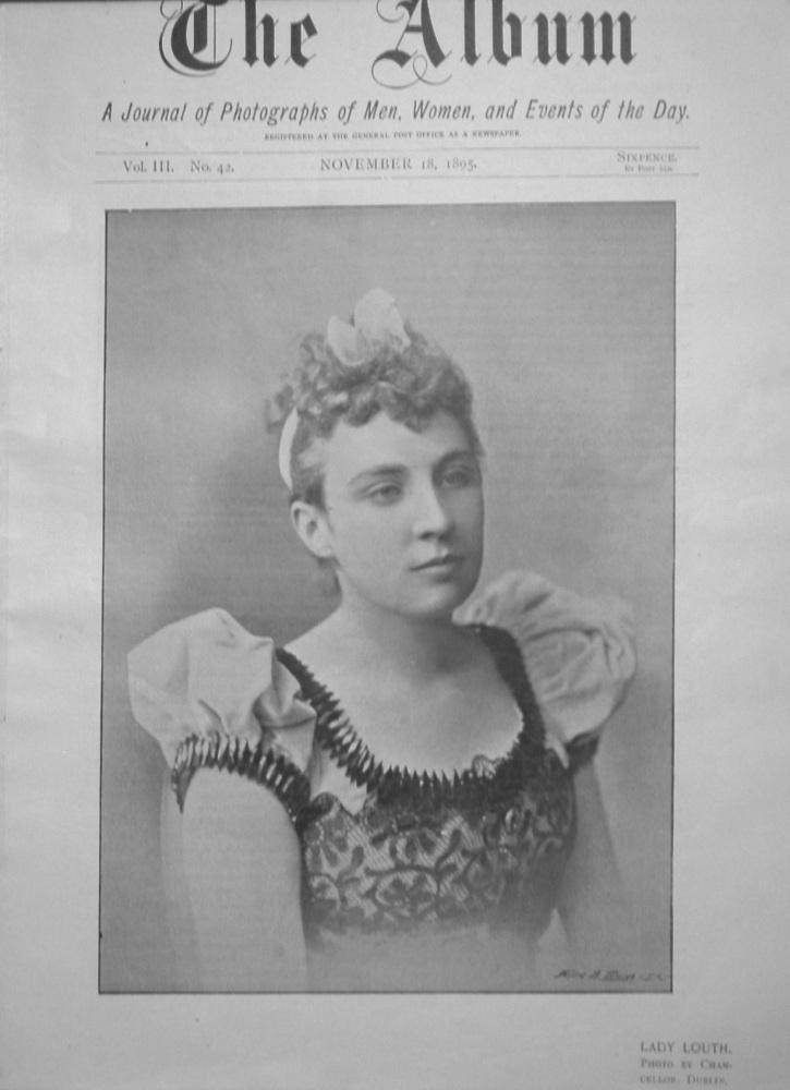 The Album, November 18th. 1895.