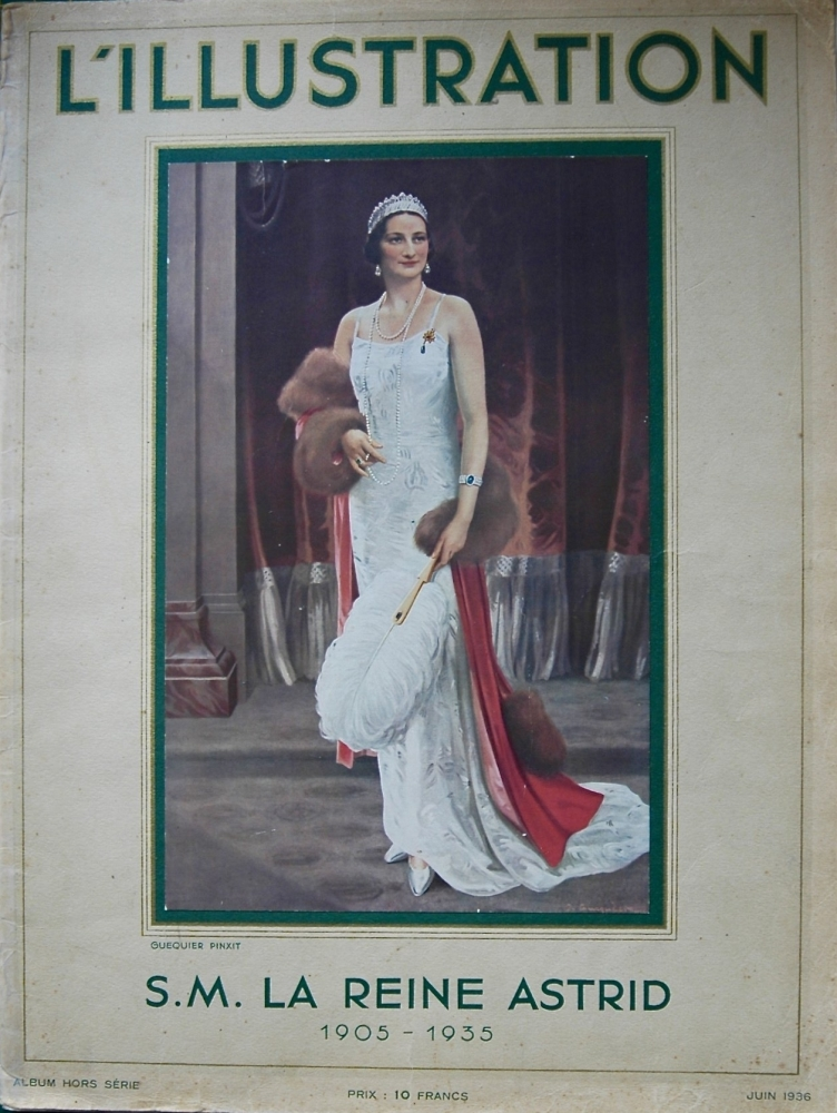 L'Illustration. S.M. La Reine Astrid, 1905 - 1935, Album Hors Serie, 1936