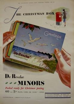 De Reszke Cigarettes. (Minors)