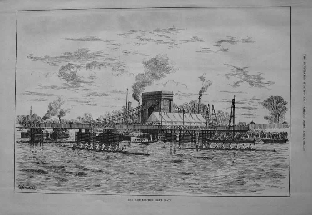 Universities Boat Race. 1885