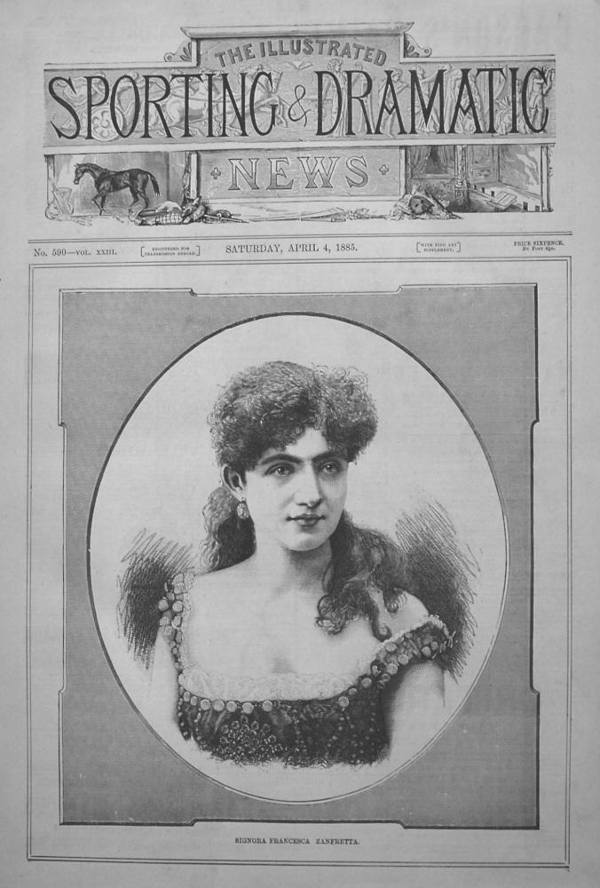 Signora Francesca Zanfretta. 1885