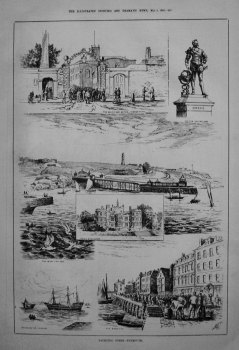 Yachting Ports. - Plymouth. 1885