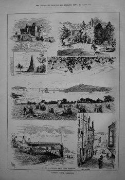 Yachting Ports. - Falmouth. 1885