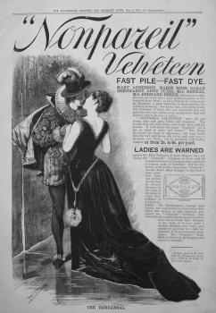 """""""Nonpareil"""" Velveteen. 1885"""