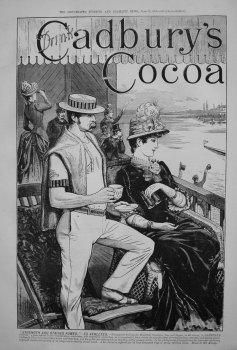 Cadbury's Cocoa. 1885