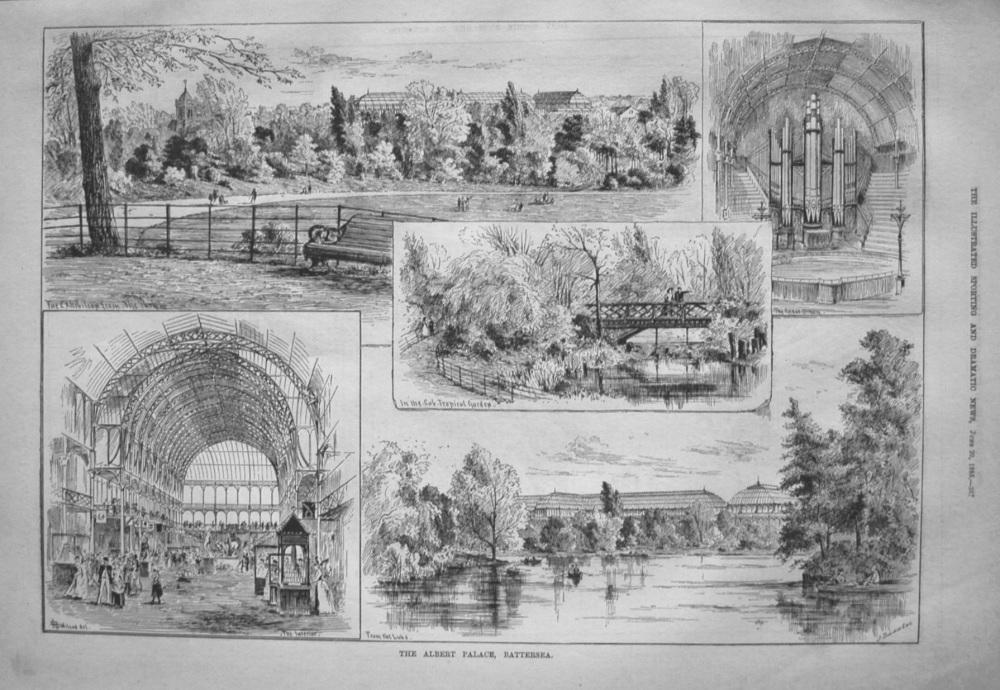 Albert Palace, Battersea. 1885