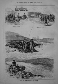 Trout and Salmon Fishing on the Dochart. 1885