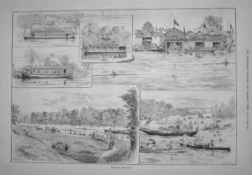 Henley Regatta. 1885