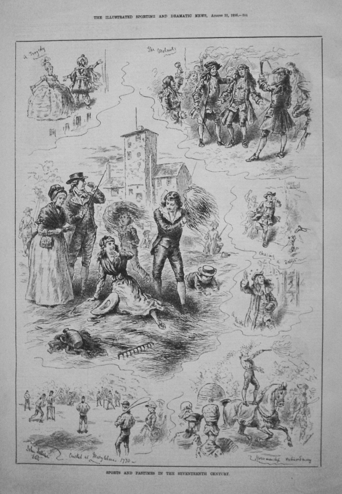 Sports and Pastimes in the Seventeenth Century. 1885