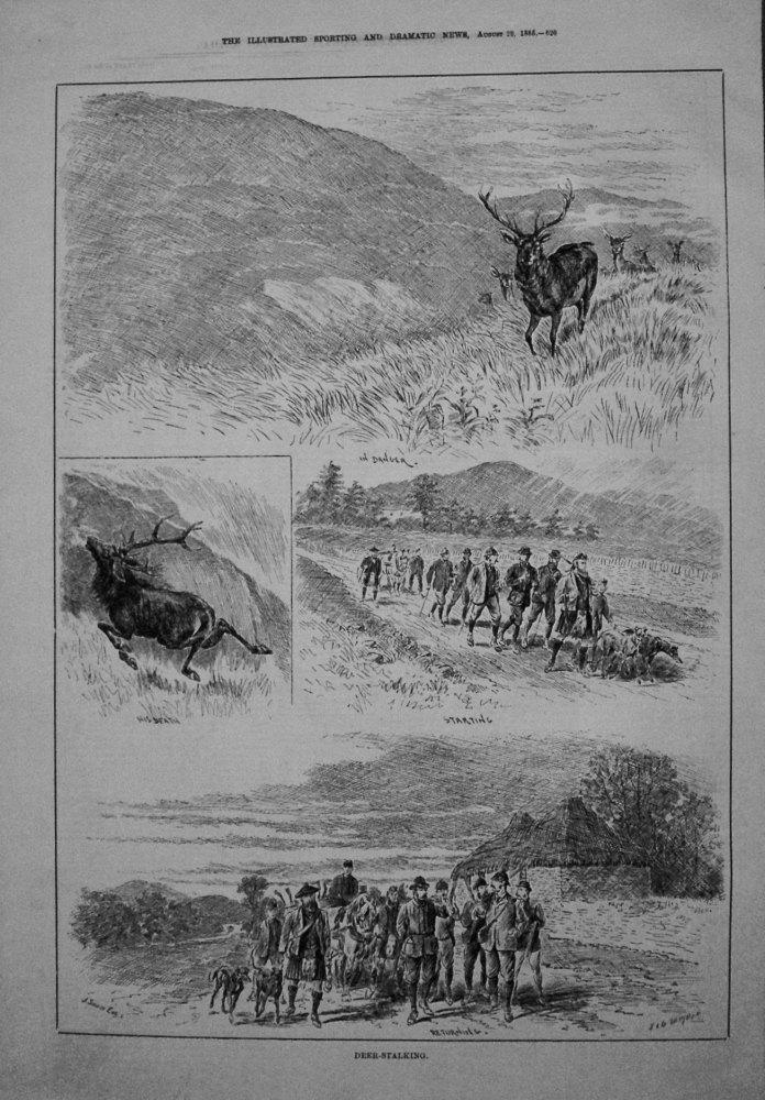 Deer-Stalking. 1885