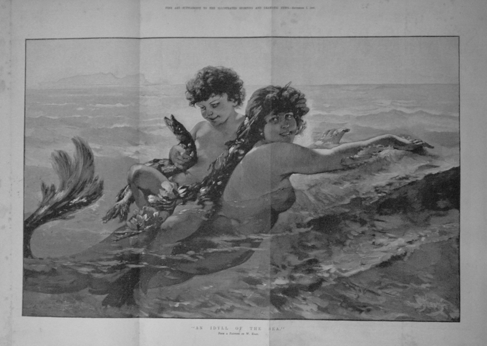 """An Idyll of the Sea."" 1885"