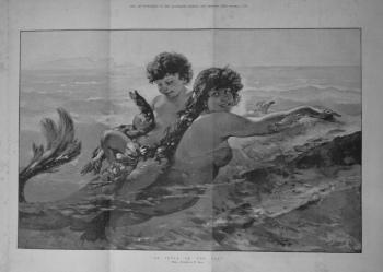 """An Idyll of the Sea."" 1885"