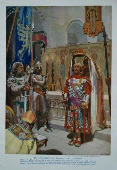 Coronation of William the Conqueror.
