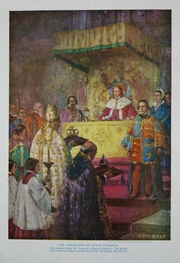 Coronation of Queen Elizabeth.