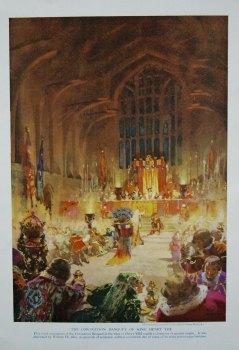Coronation Banquet of King Henry VIII.