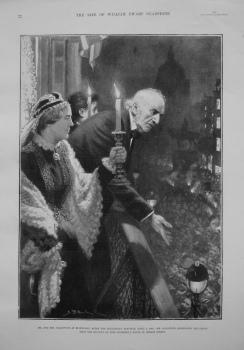 Mr. & Mrs. Gladstone at Edinburgh after the Midlothian Election, April 5th, 1880