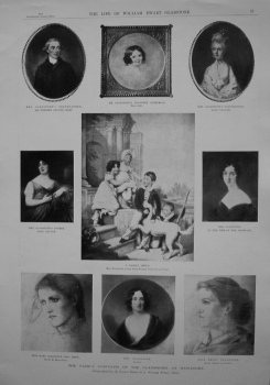 Family Portraits of the Gladstones at Hawarden. 1898