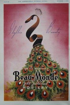 Beau Monde. (Hosiery). 1938