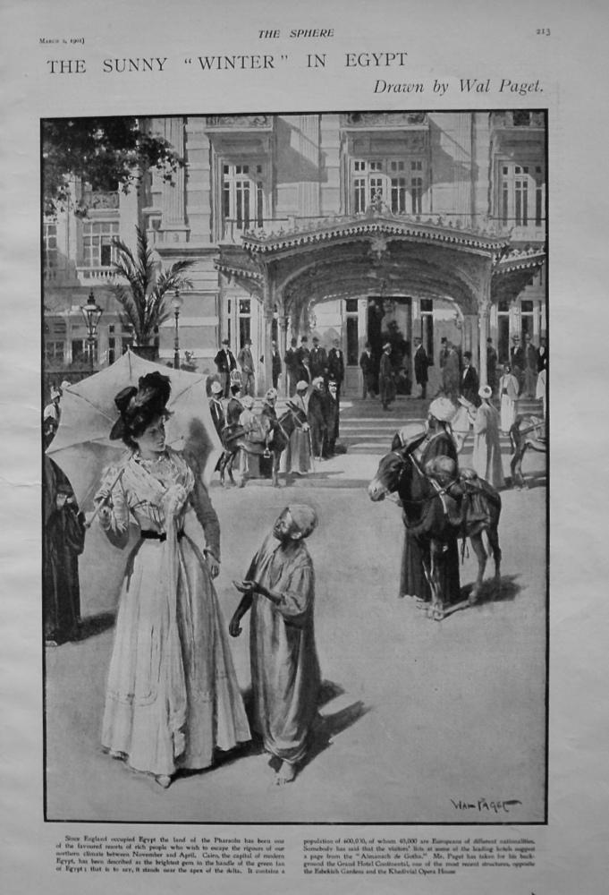 "Sunny ""Winter"" in Egypt. 1901"