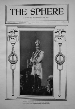 A True Sympathiser in our National Sorrow. (The German Emperor) 1901