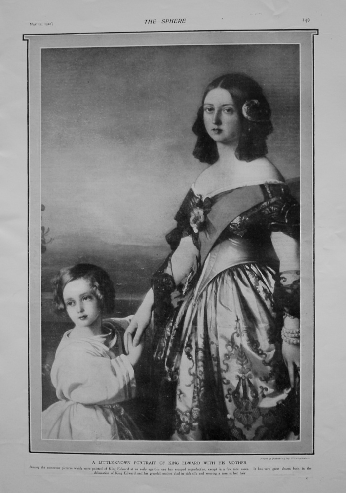A Little-known Portrait of King Edward with His Mother.
