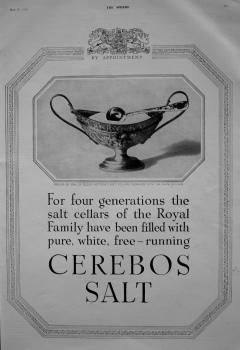 Cerebos Salt. 1937