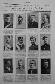 Thrilling Stories of Bravery in South Africa : Men who have won the V.C. 1901
