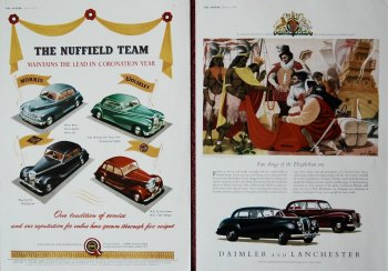 Daimler Motor Co. and the Nuffield Co. 1953
