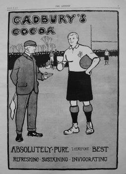 Cadbury's Cocoa. 1901